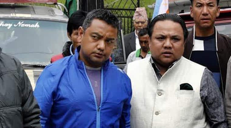 GJM, Darjeeling, Vikram Rai