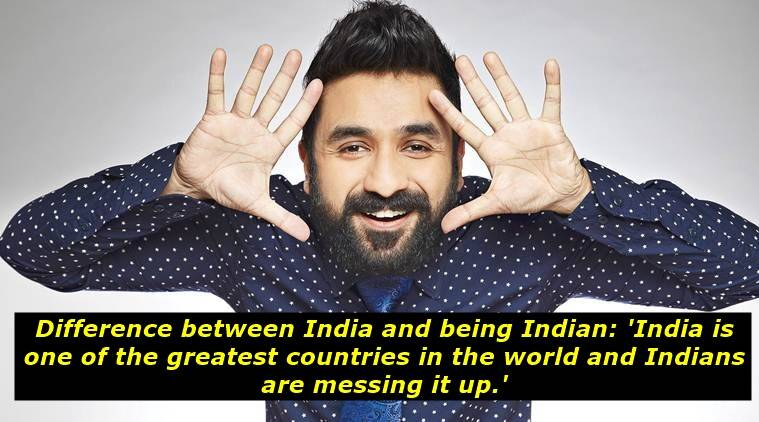 vir das, vir das indian and india, vir das indians and india difference, vir das video podcast viral, vir das podcast on difference between india and indians viral globally, indian express, indian express news