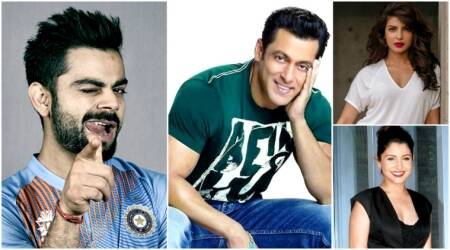 Virat Kohli trumps Salman Khan, Priyanka Chopra, Anushka Sharma on Facebook, has 35 mn followers.  See ranking here