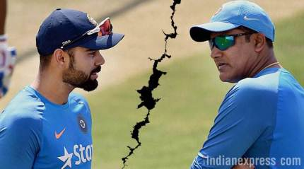 Kumble- Kohli row: In between the two tweets