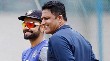 Virat Kohli, Anil Kumble, Indian Express