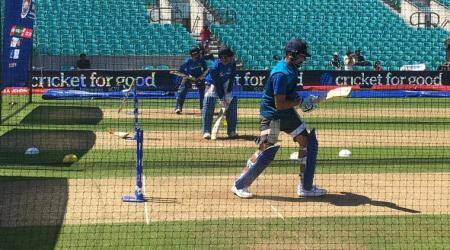 India vs South Africa, ICC Champions Trophy: Virat Kohli, MS Dhoni, Yuvraj Singh sweat it out in nets ahead of crucial clash