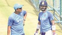 Steady stand forged between Kohli and Bangar