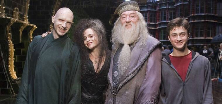 Harry Potter, Harry Potter pics, harry potter behind the scene, harry potter set pictures, harry potter images