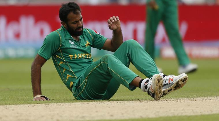 Wahab Riaz, ICC Champions Trophy 2017, India vs Pakistan