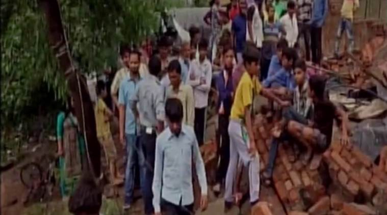 Himachal wall collapse, Solan, solan wall collapse,