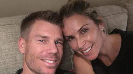 David Warner back home with family after early ICC Champions Trophy 2017 exit