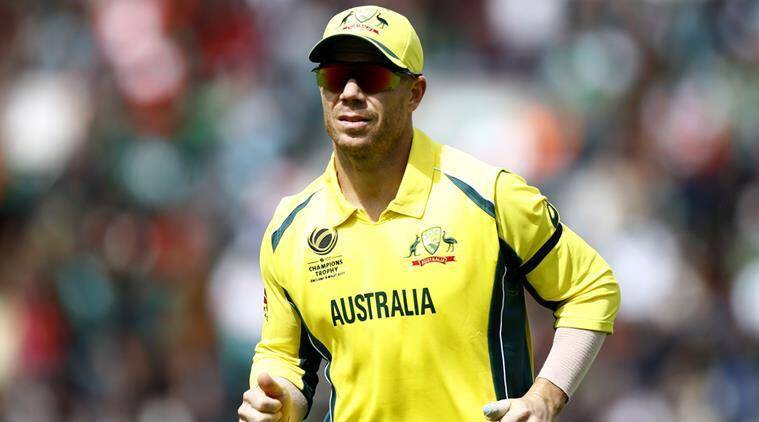 David Warner, Australia, Indian Express