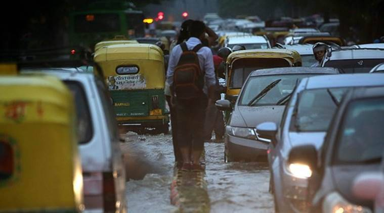 Delhi Municipal, PWD, Delhi waterlogging, delhi traffic problems, delhi monsoon, latest news, delhi news