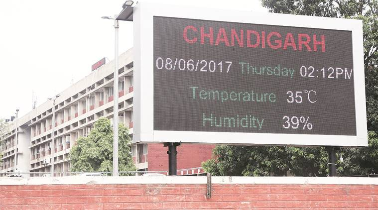 led boards, imd, india news, indian express news