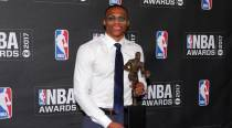 NBA Awards: Russell Westbrook named MVP
