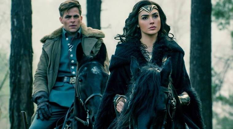 Wonder Woman Gal Gadot Chris Pine Film Is A Great Romance Shrouded