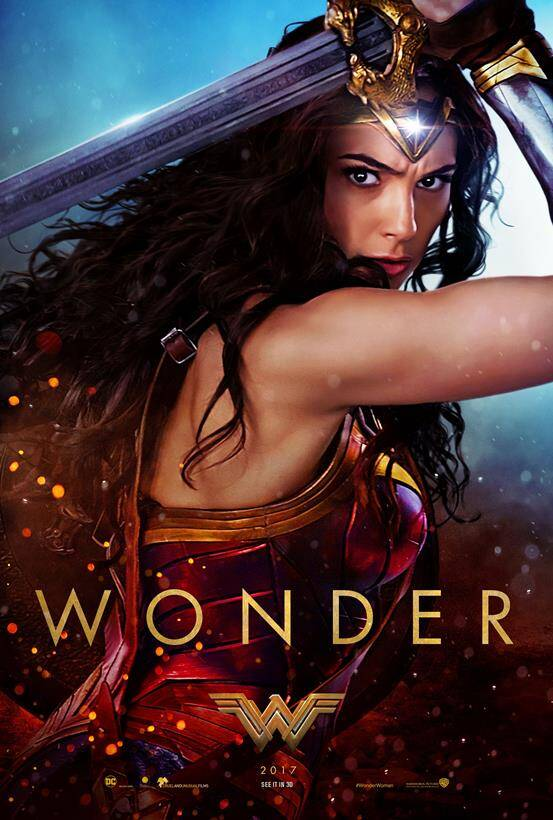 wonder woman, gal gadot, wonder woman movie, wonder woman superhero, wonder woman poster,