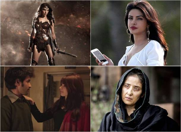 wonder woman, a death in the gunj, baywatch, dear maya,