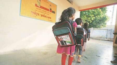 Enrolment drive In Chhota Udepur: Akhilesh photo on school bags in Gujarat, probeordered
