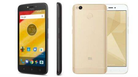 Moto C Plus, Xiaomi Redmi 4, Moto C Plus price in India, Moto C Plus vs Redmi 4, Moto C Plus price in India