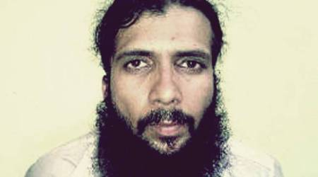 Yasin Bhatkal claims he's not getting enough food, court seeks Tiharreply