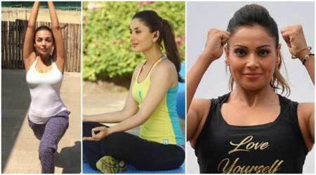 International Yoga Day 2017: From Kareena Kapoor to Malaika Arora, Bollywood actors who stay forever young with yoga