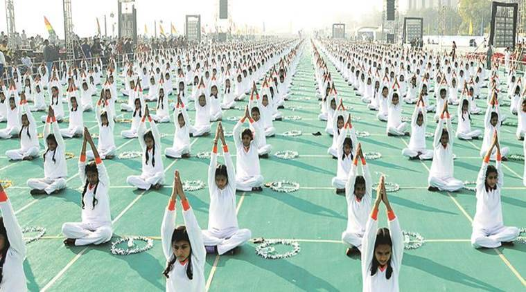 International Yoga Day 2017, West Bengal schools yoga day,