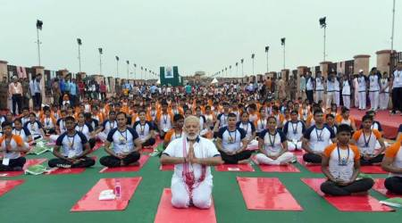 Dehradun institute all set to roll out the yoga mat for Modi today