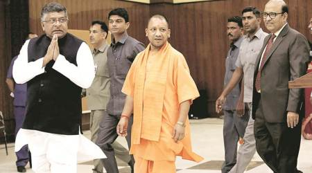 HRD secretary meets CM Yogi Adityanath with 30-point 'action plan'