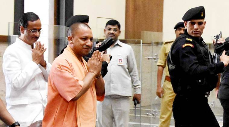 Uttar Pradesh Assembly explosives case, Yogi Adityanath, UP Assembly, PETN, plastic explosives, india news, Indian Express