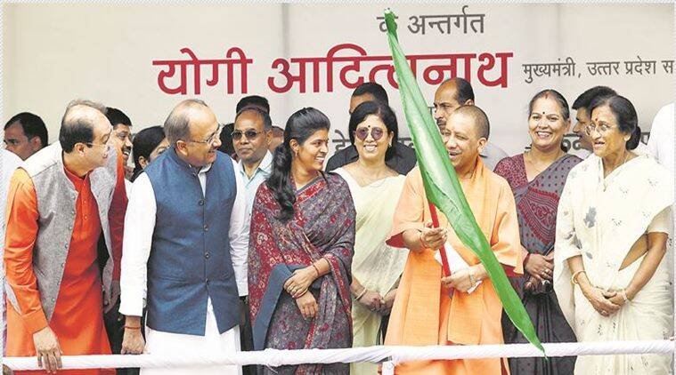 Up has changed significantly in 100 days says Yogi Adityanath