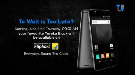 YU Yureka Black to go on open sale from June 22 on Flipkart