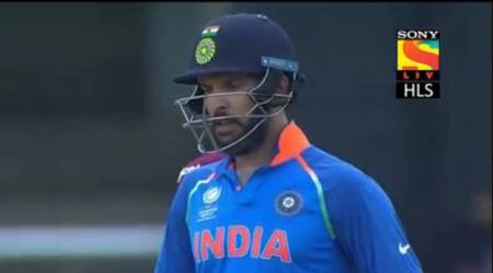 Yuvraj Singh wore Champions Trophy jersey during second ODI against West Indies