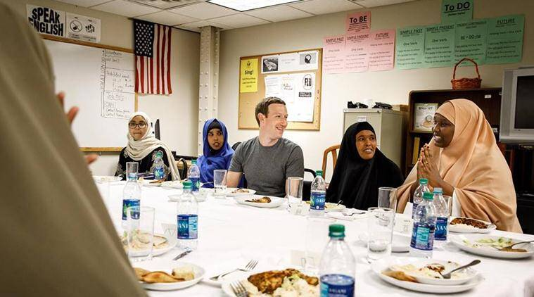 Mark Zuckerberg, donald Trump, muslims, refugees, Mark Zuckerberg iftar party, us muslim ban, zuckerberg trump, zuckerberg muslim ban, facebook news, social good, viral news, indian express