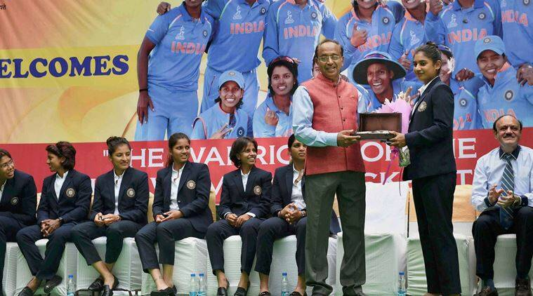 Mithali Raj and Co. felicitated on home return