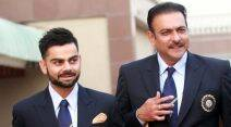 Ravi Shastri, R Sridhar, Bharat Arun, Sanjay Bangar, Virat Kohli, Indian cricket team, sports gallery, cricket gallery, Indian Express