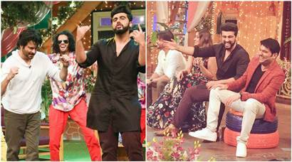 The Kapil Sharma Show: Anil Kapoor, Arjun Kapoor end Mubarakan promotions with a dose of laughter