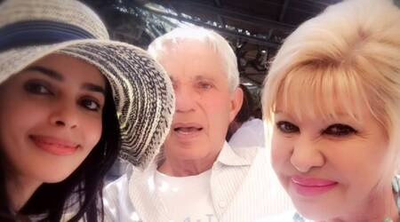 Mallika Sherawat shares a selfie with US President Donald Trump's first wife Ivana Trump