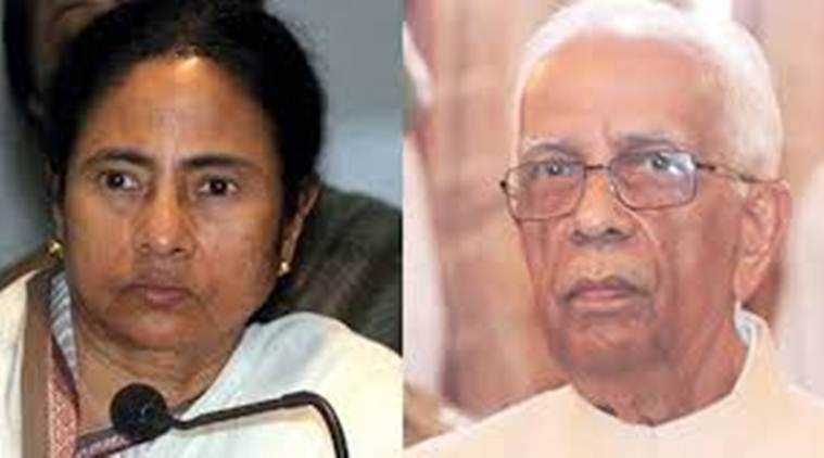 eshari Nath Tripathi, Mamata Banerjee, West bengal communal clashes, west bengal protests, WB governor, president pranab mukherjee, Bashirat protests, curfew, bengal news, kolkata news, indian express news