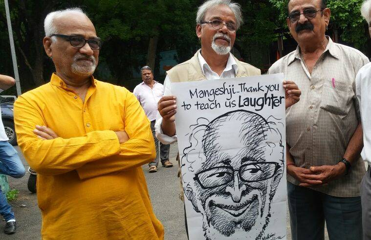 Mangesh Tendulkar dies, Mangesh Tendulkar dead, Mangesh Tendulkar passes away, cartoonist mangesh tendulkar, mangesh tendulkar cartoons, india news, mangesh tendulkar news, indian express