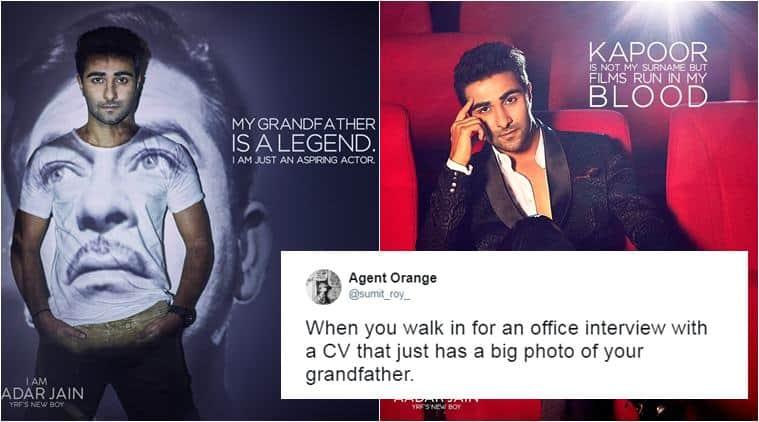 aashar jain, raj kapoor, yash raj films, karan johar, nepotism in bollywood, raj kapoor grandson debut, bollywood news, entertainment news