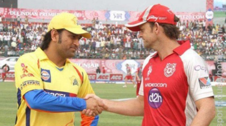 Adam Gilchrist congratulates MS Dhoni on surpassing his record as wicketkeeper-batsman