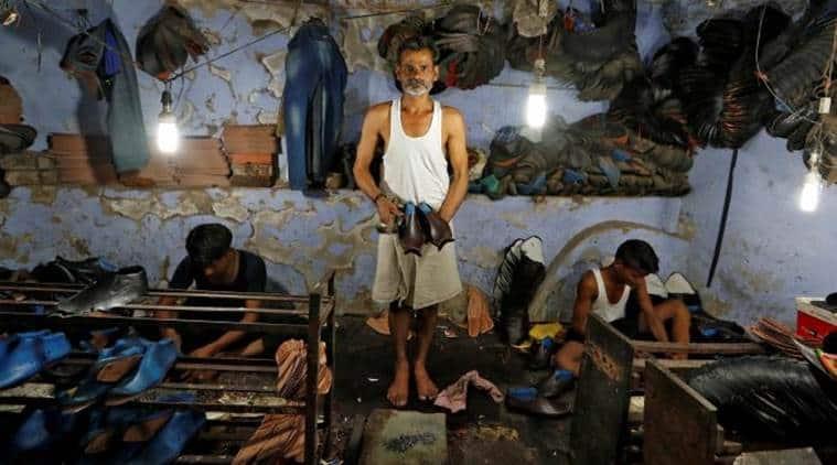 Janbazar shoe making cluster, Janbazar shoe market, Common Facility Centre Janbazar, CFC Janbazar, CFC Janbazar Kolkata, Janbazar Shoe Market Kolkata, India News, Indian Express, Indian Express News