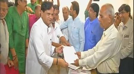 Gujarat: Congress leader Ahmed Patel files nomination for Rajya Sabha elections