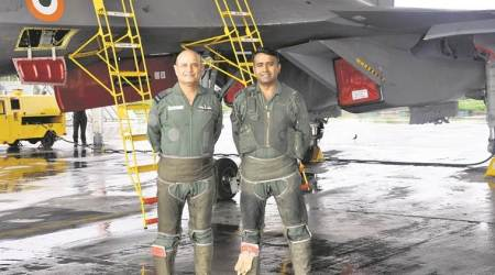 gujarat govt advisor, former air marshal appointed gujarat advisor, RK Dhir appointed advisor, Gujarat, Ahmedabad, Indian Express