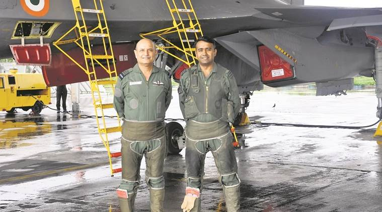 indian air force, iaf, air officer commanding in chief, south western air command, rk dhir, pune air force base, indian express