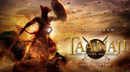 Taanaji first look: Ajay Devgn in and as the unsung warrior in a period war film. See photo