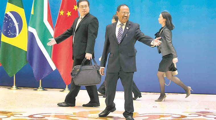 doklam standoff, doklam tensions, indo china tensions. ajit doval. ajit doval beijing visit, xi ping, india china relations, india news