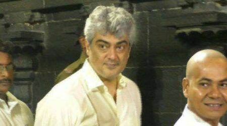 Ahead of Vivegam release, Ajith offers prayers at Tirupathi temple. Watch video