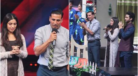Akshay Kumar, Bhoomi Pednekar promote Toilet: Ek Prem Katha on Dance Plus 3