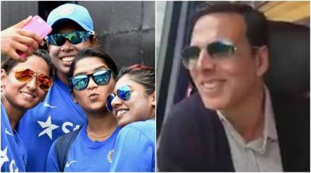 akshay kumar, icc womens world cup 2017, akshay kumar indian women team, akshay kumar train, akshay kumar video