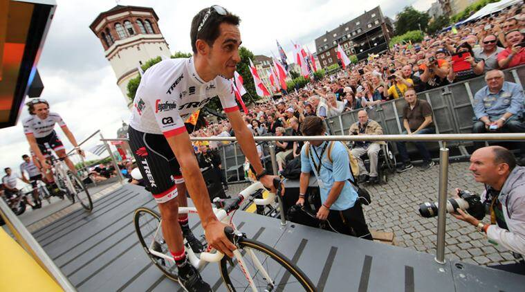 tour de france, Alberto Contador , cycling news, sports news, indian express