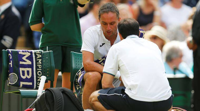 wimbledon, wimbledon injuries, roger federer, novak djokovic, tennis news, sports news, indian express