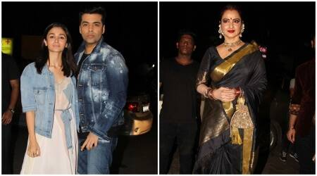 From Alia Bhatt to Rekha, Bollywood glamour transcends ages at Jitesh Pillai's birthday